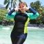 ชุดว่ายน้ำคนอ้วน พร้อมส่ง :ชุดว่ายน้ำไซส์ใหญ่แฟชั่นดำแต่งสีสันสดใส set 3 ชิ้นมีเสื้อแขนยาว บิกินี่ และกางเกงขายาวติดกางเกงขาสั้นด้านนอก แบบน่ารักมากๆจ้า:รายละเอียดไซส์คลิกเลยจ้า thumbnail 5