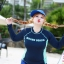 ชุดว่ายน้ำคนอ้วน แบบสปอร์ตพร้อมส่ง :ชุดว่ายน้ำไซส์ใหญ่สีน้ำเงินกรมแขนยาวแต่งลายอักษร set 4 ชิ้น มีเสื้อแขนยาว บรา บิกินี่ กางเกงขาสั้น แบบสวยน่ารักมากๆจ้า:รายละะเอียดไซส์คลิกเลยจ้า thumbnail 3