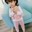 HG1221 - เสื้อ+กางเกง(สามชิ้น) 4 ตัว/แพค ไซส์ 6 8 10 12 thumbnail 4
