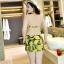 ชุดว่ายน้ำคนอ้วน พร้อมส่ง :ชุดว่ายน้ำไซส์ใหญ่สีเขียวแต่งลายกล้วย set 3ชิ้น มีบราผูกคอ กางเกงติดกระโปรงและเสื้อคลุมผูกบ่าแต่งระบาย แบบเก๋น่ารักมากๆจ้า:รายละเอียดไซส์คลิกเลยจ้า thumbnail 3