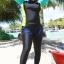 ชุดว่ายน้ำคนอ้วน พร้อมส่ง :ชุดว่ายน้ำไซส์ใหญ่แฟชั่นดำแต่งสีสันสดใส set 3 ชิ้นมีเสื้อแขนยาว บิกินี่ และกางเกงขายาวติดกางเกงขาสั้นด้านนอก แบบน่ารักมากๆจ้า:รายละเอียดไซส์คลิกเลยจ้า thumbnail 1
