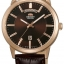 นาฬิกาผู้ชาย Orient รุ่น EV0U002T, Classic Automatic Brown Dial Leather Strap thumbnail 1