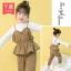 NY367- เสื้อ+กางเกง 5 ตัว/แพค ไซส์ 100-140 thumbnail 1