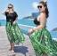 ชุดว่ายน้ำคนอ้วน พร้อมส่ง :ชุดว่ายน้ำไซส์ใหญ่สีเขียวแต่งลายโซ่สีสันสดใส set 4 ชิ้น ใส่ได้หลาย styleมีเสื้อตัวนอก บราตัวใน กางเกงขาสั้นและกระโปรง แบบเก๋น่ารักมากๆจ้า:รายละเอียดไซส์คลิกเลยจ้า thumbnail 1