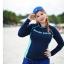 ชุดว่ายน้ำคนอ้วน แบบสปอร์ตพร้อมส่ง :ชุดว่ายน้ำไซส์ใหญ่สีน้ำเงินกรมแขนยาวแต่งลายอักษร set 4 ชิ้น มีเสื้อแขนยาว บรา บิกินี่ กางเกงขาสั้น แบบสวยน่ารักมากๆจ้า:รายละะเอียดไซส์คลิกเลยจ้า thumbnail 4