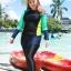ชุดว่ายน้ำคนอ้วน พร้อมส่ง :ชุดว่ายน้ำไซส์ใหญ่แฟชั่นดำแต่งสีสันสดใส set 3 ชิ้นมีเสื้อแขนยาว บิกินี่ และกางเกงขายาวติดกางเกงขาสั้นด้านนอก แบบน่ารักมากๆจ้า:รายละเอียดไซส์คลิกเลยจ้า thumbnail 2