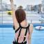 ชุดว่ายน้ำวันพีช พร้อมส่ง :ชุดว่ายน้ำแฟชั่นสีชมพูกลีบบัวแต่ลายโซ่ผูกโบว์ด้านหลัง มีกางเกงขาสั้นใส่ด้านในแบบเก๋ sexyมากๆจ้า:รอบอก36-42 นิ้ว เอว 30-38 นิ้ว สะโพก36-44นิ้วจ้า thumbnail 2