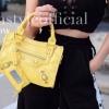 กระเป๋าสะพายแฟชั่น กระเป๋าสะพายข้างผู้หญิง City mini bag [สีเหลือง]