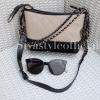 กระเป๋าสะพายแฟชั่น กระเป๋าสะพายข้างผู้หญิง Mini Classic [สีครีม]