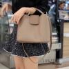 กระเป๋าสะพายแฟชั่น กระเป๋าสะพายข้างผู้หญิง กระเป๋าทรงตัวยู [สีกาแฟ]