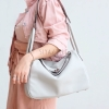 กระเป๋าสะพายแฟชั่น กระเป๋าสะพายข้างผู้หญิง LINDY (PU) [สีเทา]