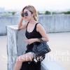 กระเป๋าสะพายแฟชั่น กระเป๋าสะพายข้างผู้หญิง City mini bag [สีดำ]