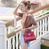 กระเป๋าสะพายแฟชั่น กระเป๋าสะพายข้างผู้หญิง Mini Kelly Pu [สีแดง]