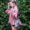 กระเป๋าสะพายแฟชั่น กระเป๋าสะพายข้างผู้หญิง อัดพีทห่วง [สีทอง]