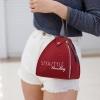 กระเป๋าสะพายแฟชั่น กระเป๋าสะพายข้างผู้หญิง กระเป๋าสะพายข้าง ฟักทอง [สีแดง]