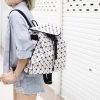กระเป๋าเป้ผู้หญิง กระเป๋าสะพายหลังแฟชั่น BAO BAO เป้ (No logo) [สีขาว]
