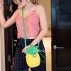กระเป๋าสะพายแฟชั่น กระเป๋าสะพายข้างผู้หญิง pineapple bag [สีเหลือง]