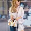 กระเป๋าสะพายแฟชั่น กระเป๋าสะพายข้างผู้หญิง GG Style [สีขาว]