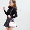 กระเป๋าสะพายแฟชั่น กระเป๋าสะพายข้างผู้หญิง Kelly Toy Mini [สีชมพู]