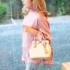 กระเป๋าสะพายแฟชั่น กระเป๋าสะพายข้างผู้หญิง The BOX 24 CM [สีครีม]