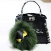 สายสะพายกระเป๋า Fendi Monster [สีเขียว]