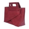 กระเป๋าสะพายแฟชั่น กระเป๋าสะพายข้างผู้หญิง New Design [สีแดง]