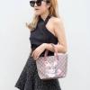 กระเป๋าสะพายแฟชั่น กระเป๋าสะพายข้างผู้หญิง กุชชี่ TOTE [สีแดง]