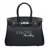 กระเป๋าสะพายแฟชั่น กระเป๋าสะพายข้างผู้หญิง Birgin 25 CM [สีดำ]