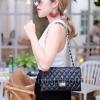 กระเป๋าสะพายแฟชั่น กระเป๋าสะพายข้างผู้หญิง CN classic [สีดำ]