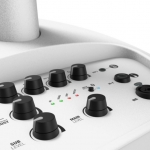 Ultra Portable Column PA System with Mixer(White)