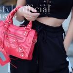 กระเป๋าสะพายแฟชั่น กระเป๋าสะพายข้างผู้หญิง City mini bag [สีแดง]