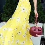 กระเป๋าครัช กระเป๋าถือ Gabriela [สีแดง]