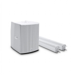 Compact Column active PA System (White)
