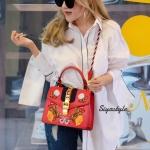 กระเป๋าสะพายแฟชั่น กระเป๋าสะพายข้างผู้หญิง GG Style [สีแดง]