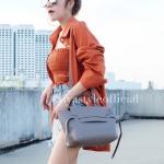 กระเป๋าสะพายแฟชั่น กระเป๋าสะพายข้างผู้หญิง Belt Bag [สีเทา]