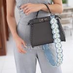 สายสะพายกระเป๋า สายกระเป๋า [สีฟ้า]