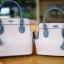 กระเป๋าสะพายแฟชั่น กระเป๋าสะพายข้างผู้หญิง The BOX 24 CM [สีชมพู] thumbnail 5