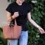 กระเป๋าสะพายแฟชั่น กระเป๋าสะพายข้างผู้หญิง Picotin size L [สีดำ] thumbnail 2