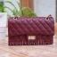 กระเป๋าสะพายแฟชั่น กระเป๋าสะพายข้างผู้หญิง CN classic [สีแดง] thumbnail 4