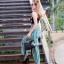 กระเป๋าสะพายแฟชั่น กระเป๋าสะพายข้างผู้หญิง Fendi candy stud [สีดำ] thumbnail 3