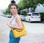กระเป๋าสะพายแฟชั่น กระเป๋าสะพายข้างผู้หญิง Lindy 26 cm [สีเหลือง]