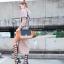 กระเป๋าสะพายแฟชั่น กระเป๋าสะพายข้างผู้หญิง Days bag [สีส้ม] thumbnail 2