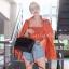 กระเป๋าสะพายแฟชั่น กระเป๋าสะพายข้างผู้หญิง Belt Bag [สีดำ] thumbnail 3