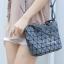 กระเป๋าสะพายแฟชั่น กระเป๋าสะพายข้างผู้หญิง Barel Mini Nologo สีด้าน [สีเทา] thumbnail 2