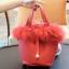 กระเป๋าสะพายแฟชั่น กระเป๋าสะพายข้างผู้หญิง Picotin เฟรอ [สีแดง] thumbnail 2