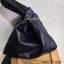 กระเป๋าครัช กระเป๋าถือ กระเป๋าทรงสามเหลี่ยม [สีดำ] thumbnail 2
