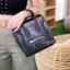 กระเป๋าสะพายแฟชั่น กระเป๋าสะพายข้างผู้หญิง Top bag [สีดำ] thumbnail 4