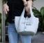 กระเป๋าสะพายแฟชั่น กระเป๋าสะพายข้างผู้หญิง Picotin size L [สีเทา] thumbnail 2