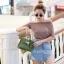 กระเป๋าสะพายแฟชั่น กระเป๋าสะพายข้างผู้หญิง Mini Kelly Pu [สีเขียว] thumbnail 3