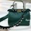 กระเป๋าสะพายแฟชั่น กระเป๋าสะพายข้างผู้หญิง Fendi candy stud [สีเขียว] thumbnail 3